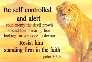 1 peter 5_8-9 the devil prowls