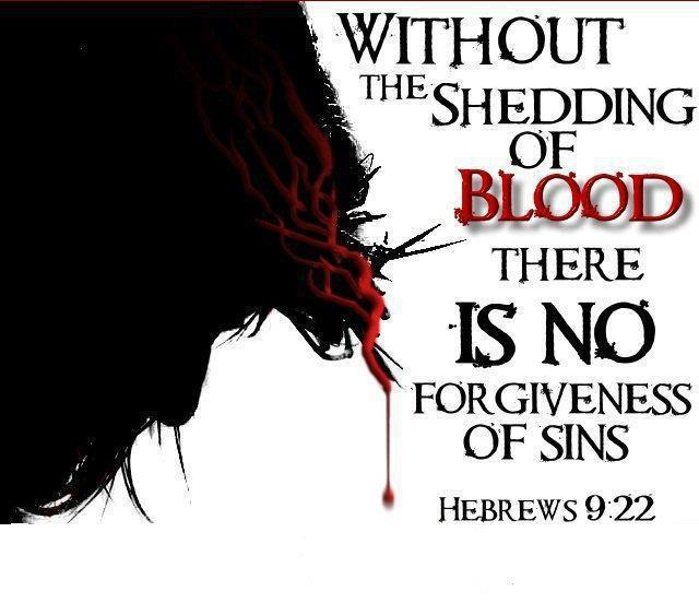 Jesus Blood Without Shedding of Blood