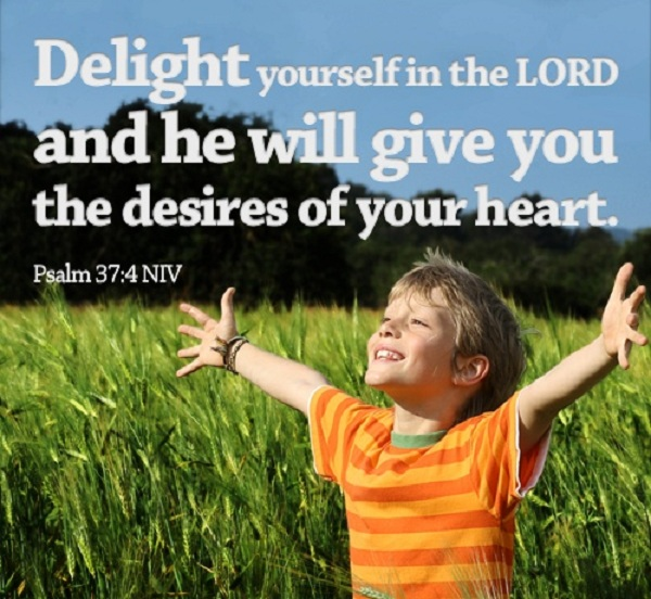 Delight Yourself in the Lord Child