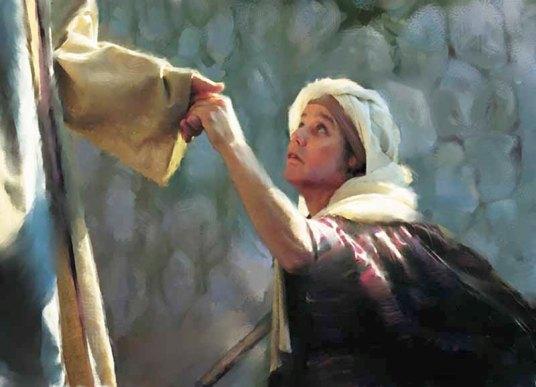 Jesus heals_ rippled_woman