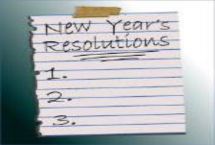 My Three-in-One New Years Resolution